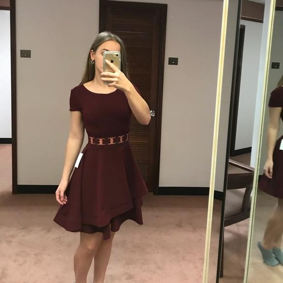 0b7733e1fca51 B Darlin Dresses   Crochet Illusion Waist Double Hem Dress   Poshmark